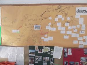 Mapas elaborado en 4 de Primaria. Metodología basada en proyectos. Ceip Azorín Monovar